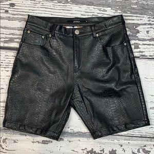 JOYRICH Faux Python Shorts - Size M(34)